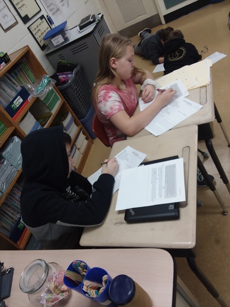 Forming a writing community with peer editing.