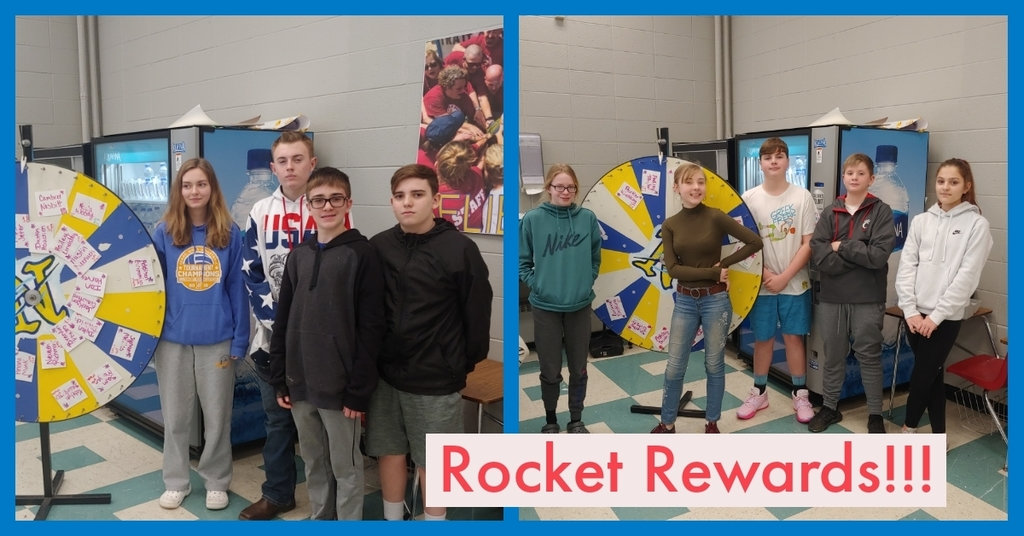 Rocket Reward Room Winners!!!