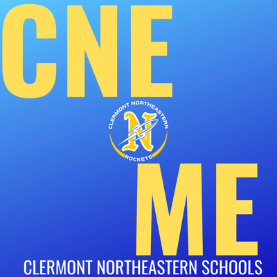 Podcast logo for CNE N Me.