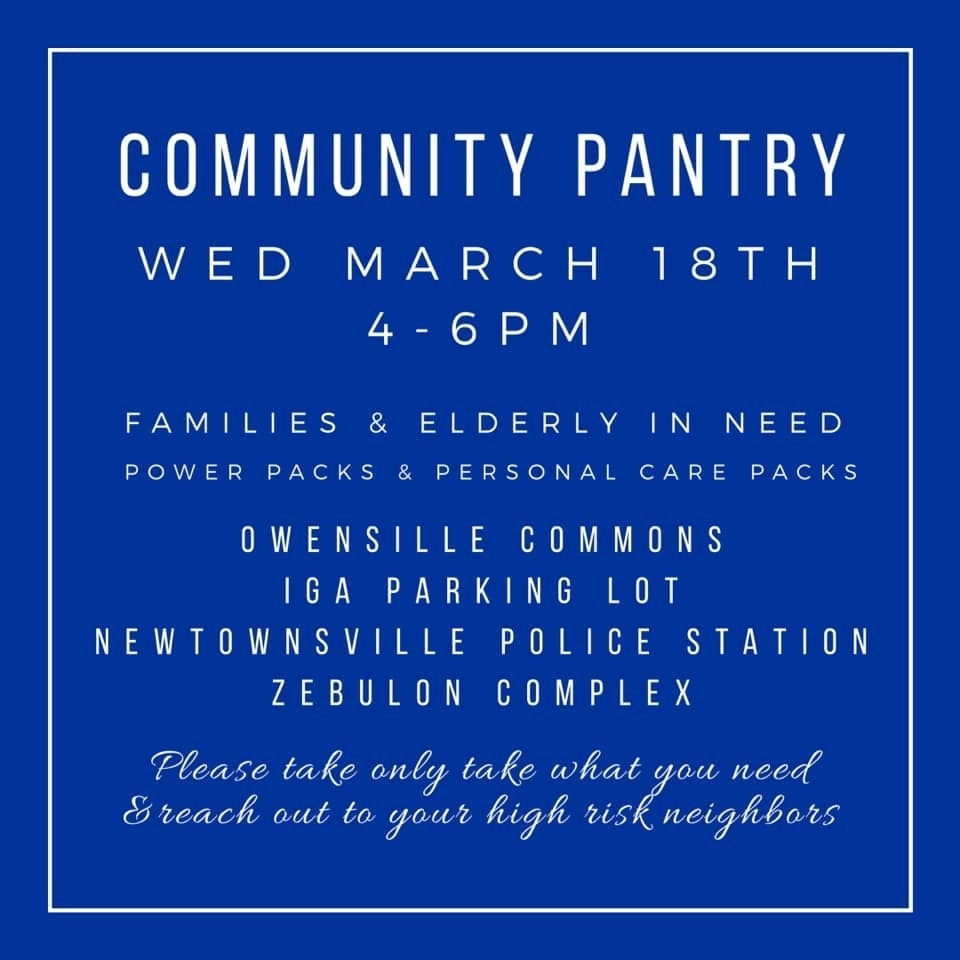 Community Pantry Information