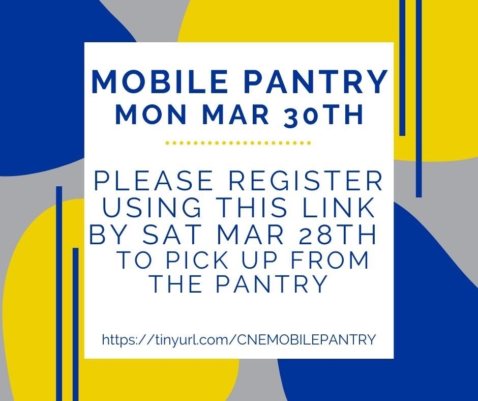 Mobile Pantry March 30th