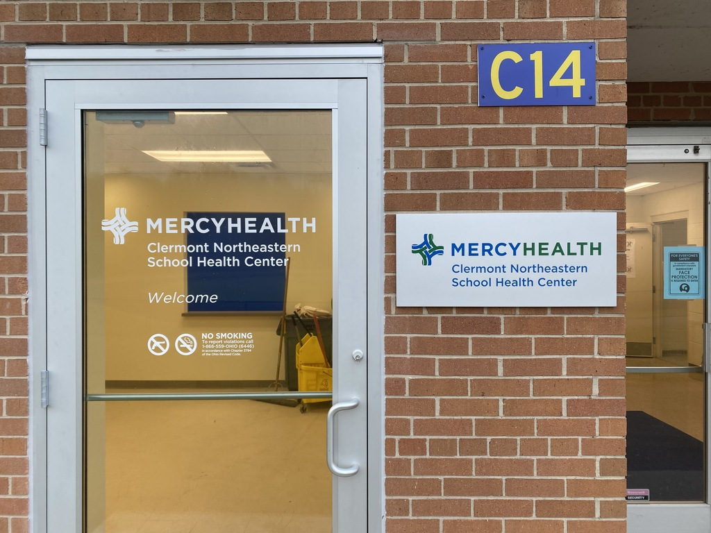 Mercy Health School Health Center Sign