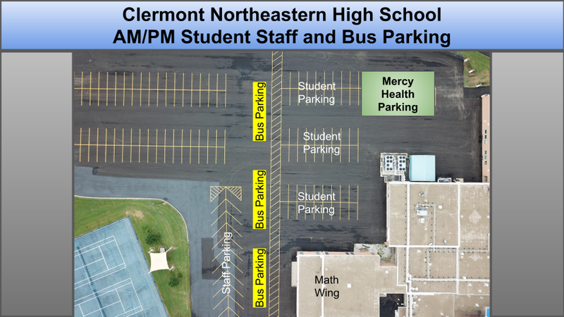 Student Parking and Drop-Off/Pick-Up Information